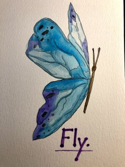 butterfly 3 fly