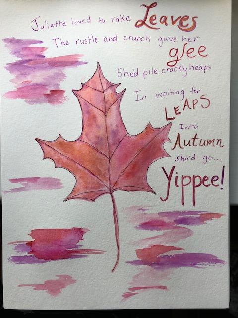 leaf poem